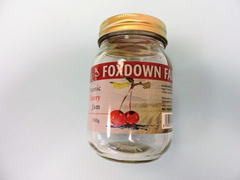 Jam jar label